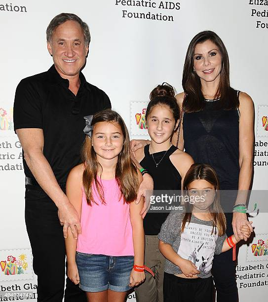 Terry Dubrow Heather Dubrow and children attend the Elizabeth Glaser Pediatric AIDS Foundation's 26th A Time For Heroes family festival at Smashbox...