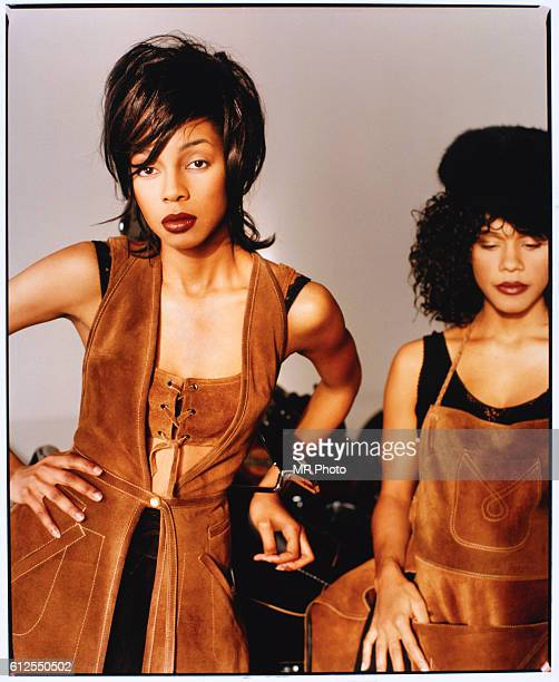 Terry Ellis and Cindy Herron from the popular music group En Vogue