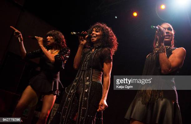 Terry Ellis Cindy Herron and Rhona Bennett of En Vogue perform at The O2 Institute Birmingham on April 6 2018 in Birmingham England