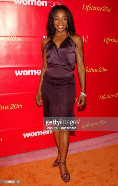 Terry Ellis of En Vogue during WomenRock LIFETIME Televsion Fifth Annual Signature Concert Arrivals at Wiltern Theater in Los Angeles California...