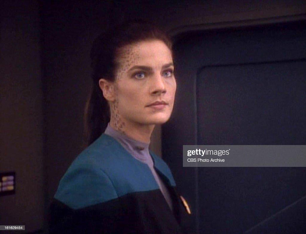 Terry Farrell As Jadzia Dax In The Nachrichtenfoto Getty Images