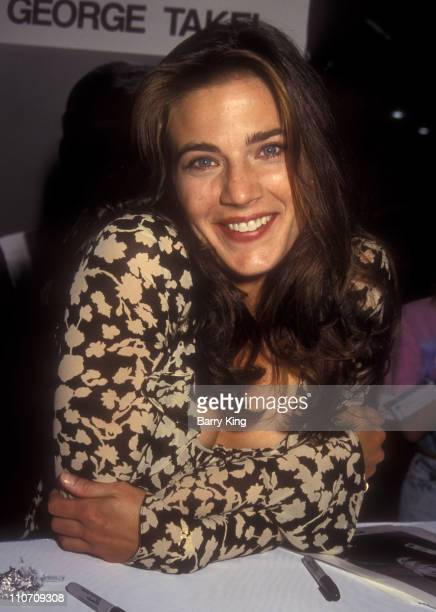 Terry Farrell during 1993 VSDA Convention July 12 1993 at Las Vegas Convention Center in Las Vegas NV United States
