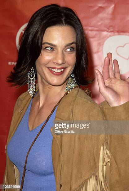 """Terry Farrell during First Annual Entertainment Industry Foundation """"Love Rocks"""" Concert to Honor U2's Bono and Launch EIF'S National Cardiovascular..."""