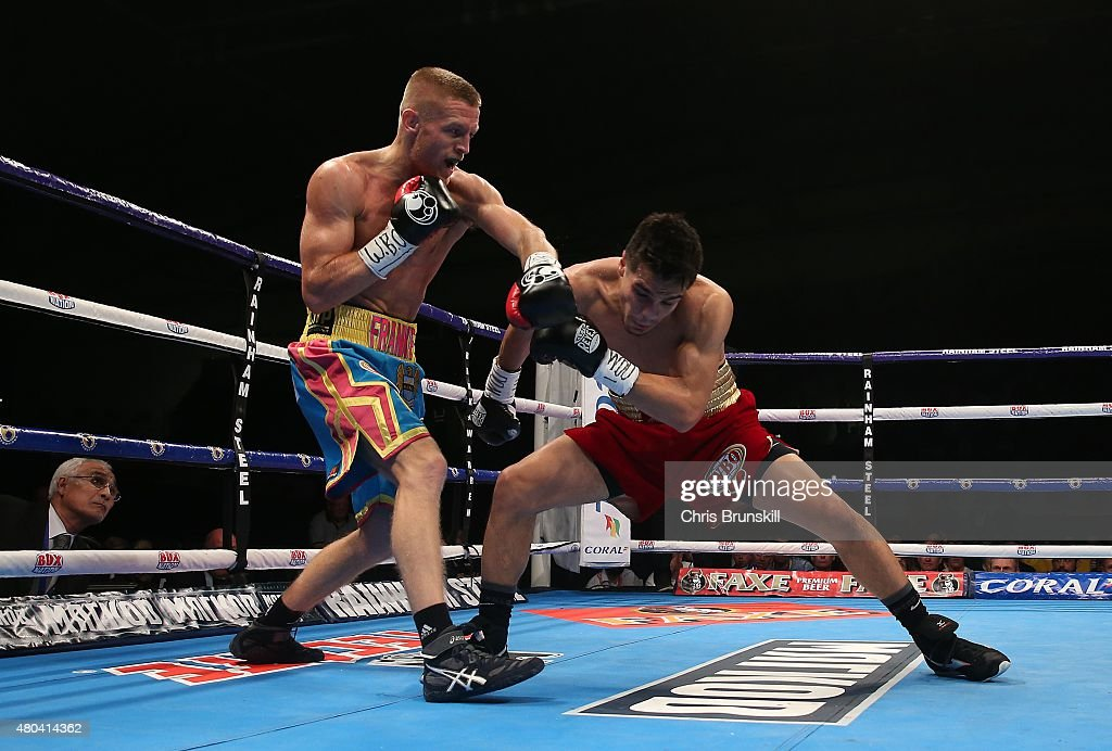 Boxing at Manchester Velodrome : News Photo