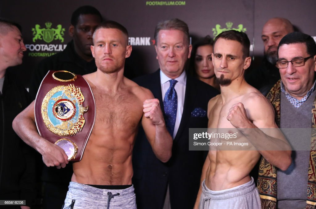 Terry Flanagan v Petr Petrov Weigh-In - The Printworks : News Photo