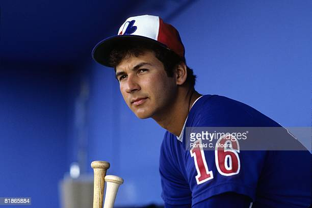 Terry Francona of the Montreal Expos during spring training in March 1982 in West Palm Beach Florida