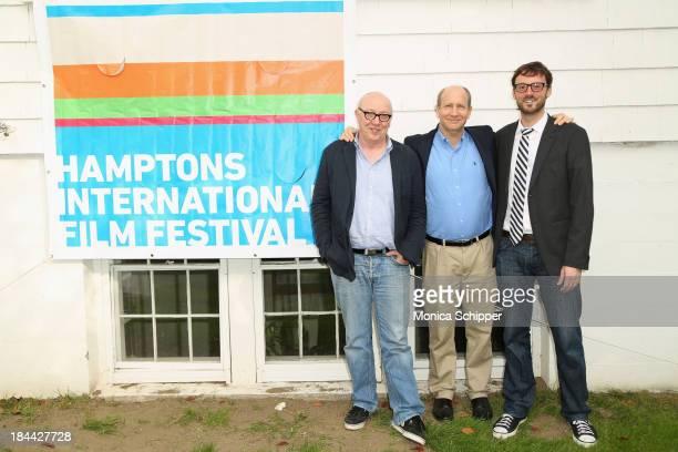Terry George, Doron Weber, and Hamptons International Film Festival Artistic Director David Nugent attend the 21st Annual Hamptons International Film...