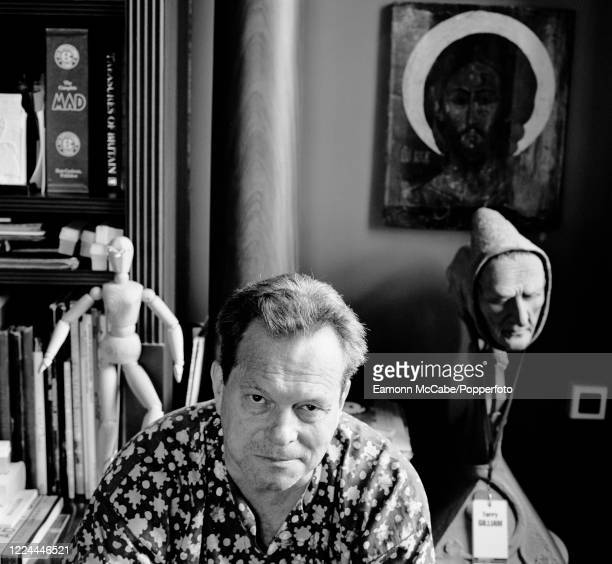 Terry Gilliam, American-born British screenwriter, film director and actor, 3rd August 1999. Gilliam's early career was as a comic strip animator in...