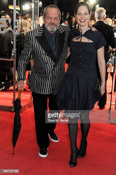 Terry Gilliam and Amy Gilliam attend the European Premiere of 'Captain Phillips' on the opening night of the 57th BFI London Film Festival at Odeon...