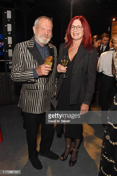 Terry Gilliam and Maggie Weston attend the BFI IWC Luminous Gala at The Roundhouse on October 1 2019 in London England During the event Oscarwinning...