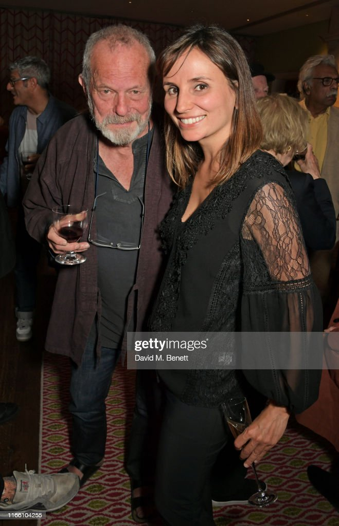 Terry Gilliam and Petra Costa attend a screening of 'The