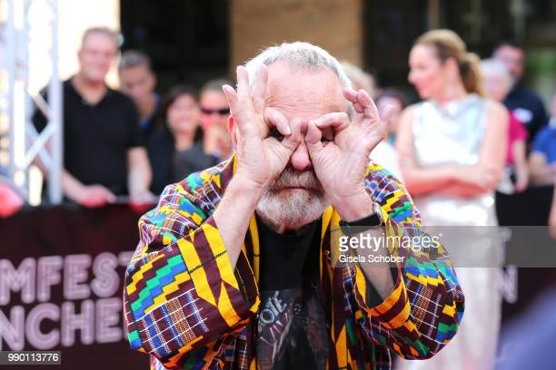 Terry Gilliam at the CineMerit Award Gala during the Munich Film Festival 2018 at Gasteig on July 2, 2018 in Munich, Germany.