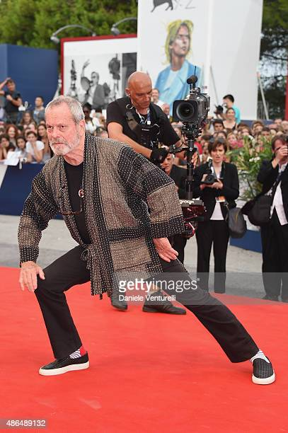 Terry Gilliam attends a premiere for 'Black Mass' during the 72nd Venice Film Festival on September 4 2015 in Venice Italy