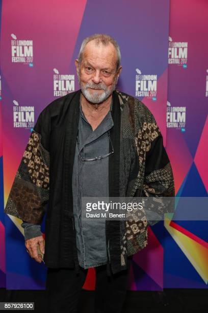 Terry Gilliam attends a screening 'Jabberwocky' during the 61st BFI London Film Festival on October 5 2017 in London England