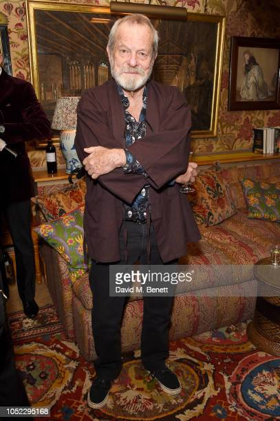 Terry Gilliam attends the Alacran Pictures party, celebrating the screening of The Man Who Killed Don Quixote, during the during the annual LFF at 5...