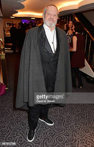 Terry Gilliam attends the English National Opera's Glorious Gala Evening at The Savoy Hotel on January 21 2015 in London England