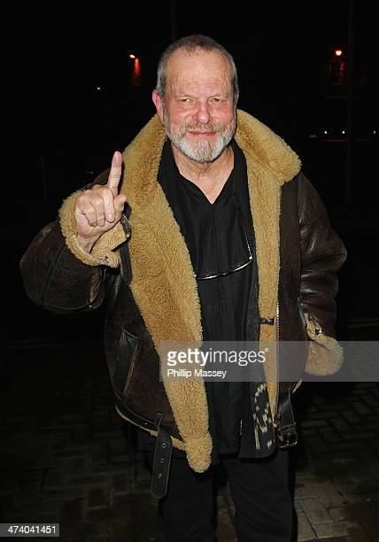 Terry Gilliam attends the Late Late Show on February 21 2014 in Dublin Ireland
