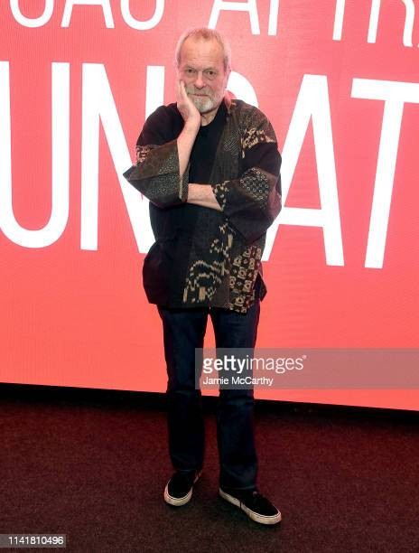 """Terry Gilliam attends the SAG-AFTRA Foundation Conversations: """"The Man Who Killed Don Quixote"""" at The Robin Williams Center on April 10, 2019 in New..."""
