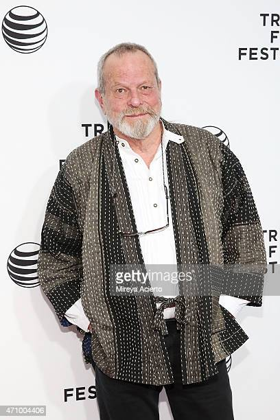 Terry Gilliam attends the Special Screening Narrative 'Monty Python And The Holy Grail' during 2015 Tribeca Film Festival at Beacon Theatre on April...