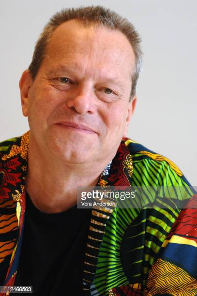 Terry Gilliam director during 'The Brothers Grimm' Press Conference with Matt Damon Terry Gilliam Monica Bellucci and Heath Ledger at Four Seasons...