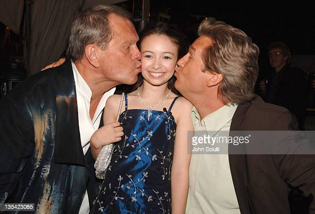 Terry Gilliam director Jodelle Ferland and Jeff Bridges