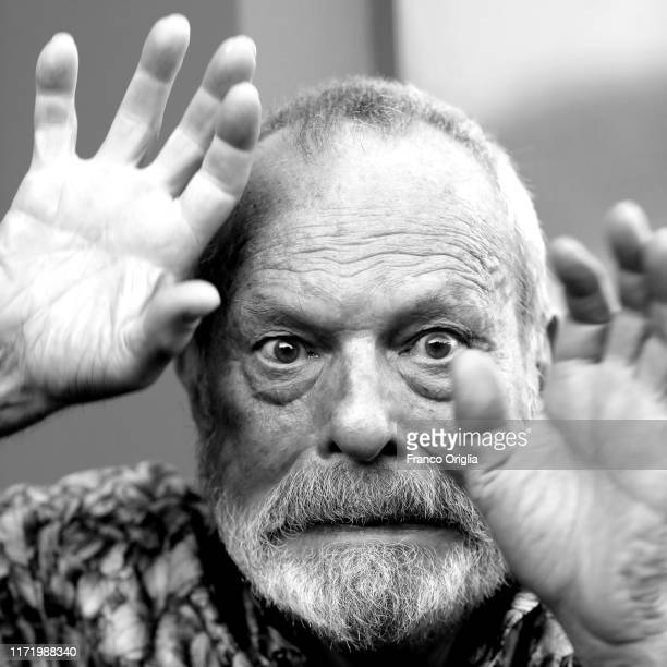 Terry Gilliam poses during the 76th Venice Film Festival at on September 03, 2019 in Venice, Italy.