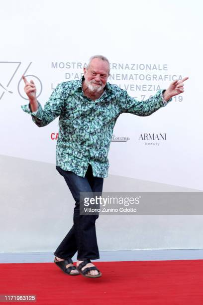 """Terry Gilliam walks the red carpet ahead of the """"Happy Birthday"""" screening during the 76th Venice Film Festival at Sala Giardino on September 03,..."""