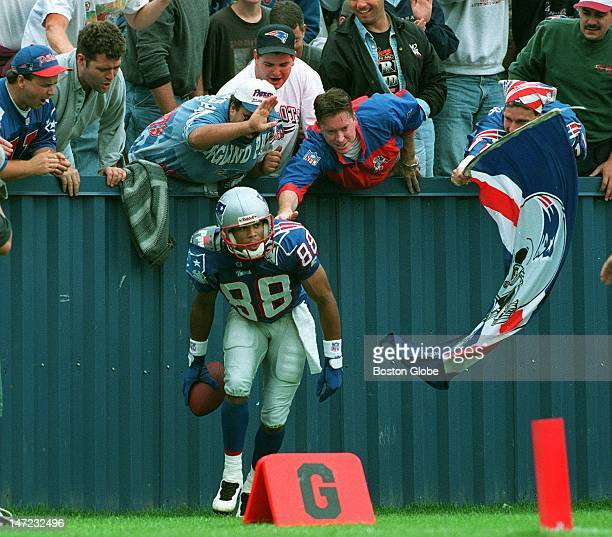 Terry Glenn is fast becoming a fan favorite in Foxborough