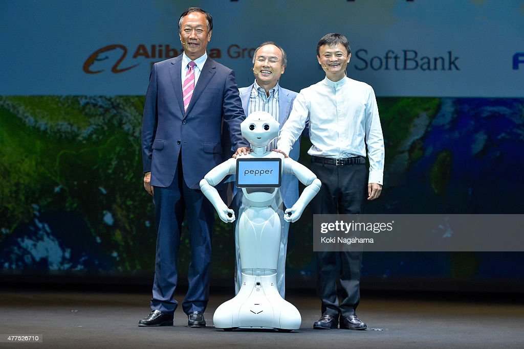 Softbank Announces June 20 Commercial Launch Of Pepper Humanoid : News Photo