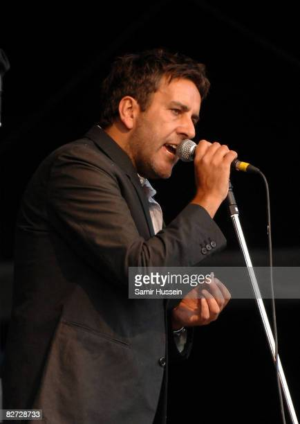 Terry Hall of The Specials performs at Bestival on September 6 2008 in the Isle of Wight England