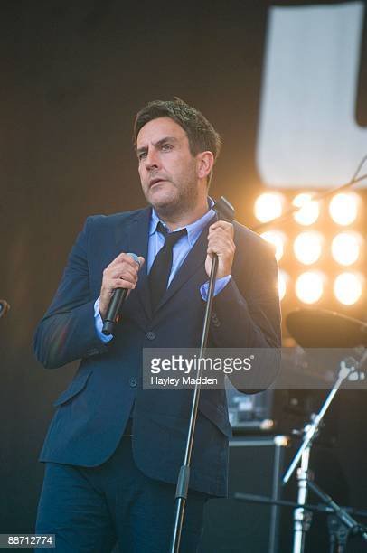 Terry Hall of The Specials performs on The Main stage on day 2 of Glastonbury Festival at Worthy Farm on June 26 2009 in Glastonbury England