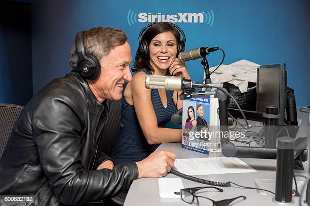 Terry Heather Dubrow Visit SiriusXM at SiriusXM Studio on September 8 2016 in New York City