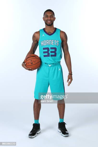 Terry Henderson of the Charlotte Hornets poses for a portrait during media day on September 25 2017 at Spectrum Center in Charlotte North Carolina...