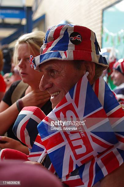 Terry Hutt from Cambridge, waits outside the Lindo Wing of St Mary's Hospital in Paddington, west London, for the birth of the Duchess of Cambridge's...