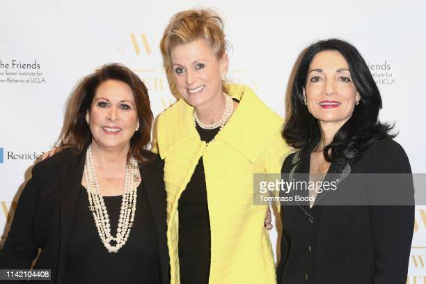 Terry Hyman Hamermesh Cece Feiler and Johnese Spisso attend the UCLA #WOW The Wonder Of Women Summit at UCLA Meyer and Renee Luskin Conference Center...