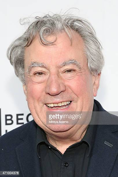 Terry Jones attends the Special Screening Narrative Monty Python And The Holy Grail during 2015 Tribeca Film Festival at Beacon Theatre on April 24...