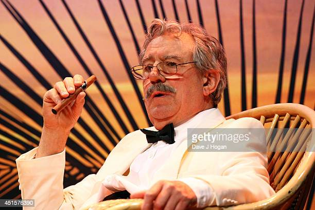 Terry Jones performs on the opening night of Monty Python Live on July 1 2014 in London England
