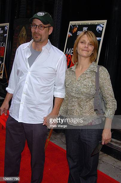 Terry Kinney and Kathryn Erbe during Metallica Some Kind of Monster New York Screening Arrivals at Loews 19th Street Theatre in New York City New...