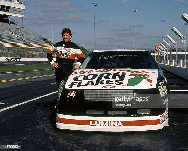 Terry Labonte with the Billy Haganowned Kellogg's Corn Flakes Chevrolet Lumina at Charlotte Motor Speedway before a NASCAR Cup race