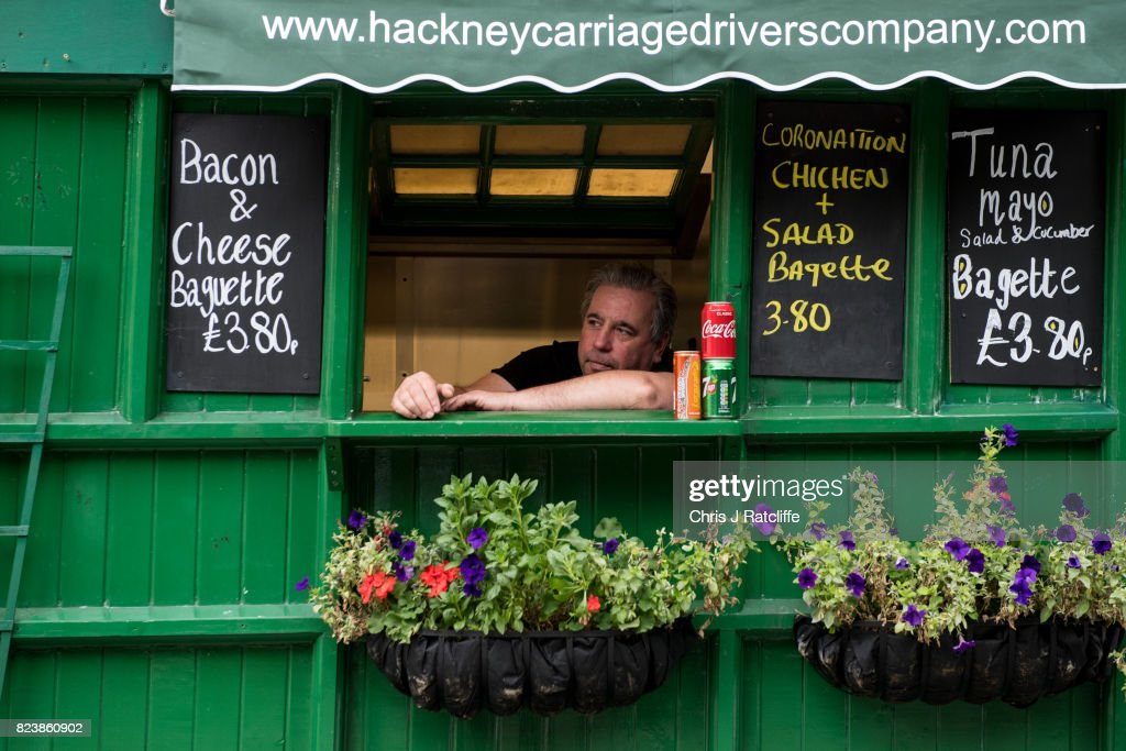 The Last Remaining Cabmen's Shelters In London : News Photo