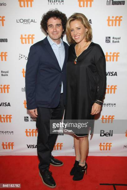 Terry Leonard and Terry Leonard attend the Professor Marston The Wonder Women premiere during the 2017 Toronto International Film Festival at...