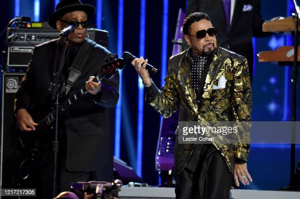 Terry Lewis and Morris Day and The Time perform onstage during the 62nd Annual GRAMMY Awards Let's Go Crazy The GRAMMY Salute To Prince on January 28...