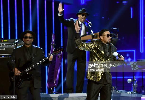 Terry Lewis Jimmy Jam and Morris Day and The Time perform onstage during the 62nd Annual GRAMMY Awards Let's Go Crazy The GRAMMY Salute To Prince on...