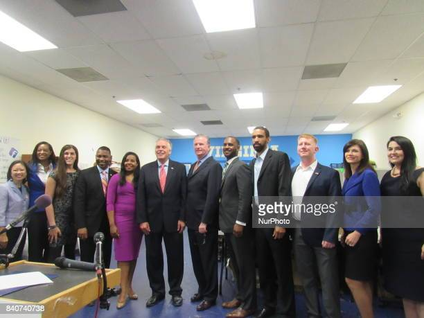 Terry McAuliffe Charniele Herring Michael Keegan Lizet Ocampo Jennifer Carroll Foy Danica Roem Joshua Cole Donte Tanner Kathy Tran Lee Carter Jamaal...
