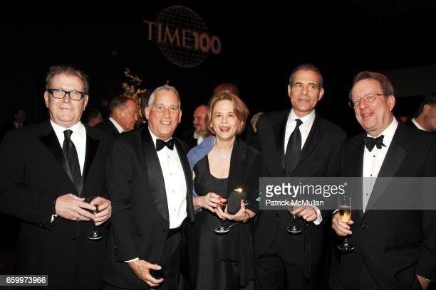 Terry McDonell, Walter Isaacson, Ann Moore, Richard Stengel and Johh Huey attend TIME MAGAZINE'S 100 MOST INFLUENTIAL PEOPLE 2009 at Jazz At Lincoln...