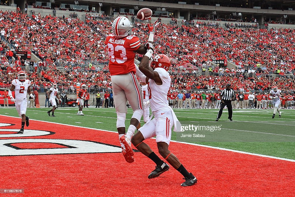 Rutgers v Ohio State : News Photo