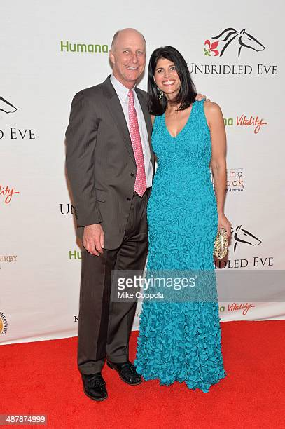Terry Meiners and Mary George Meiners attend the 2014 Unbridled Eve Derby Gala during the 140th Kentucky Derby at Galt House Hotel Suites on May 2...