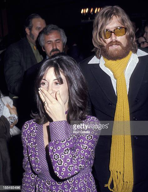 Terry Melcher and Guest during Doris Day and Husband Barry Comden File Photos at Beverly Hills Hotel in Beverly Hills California United States