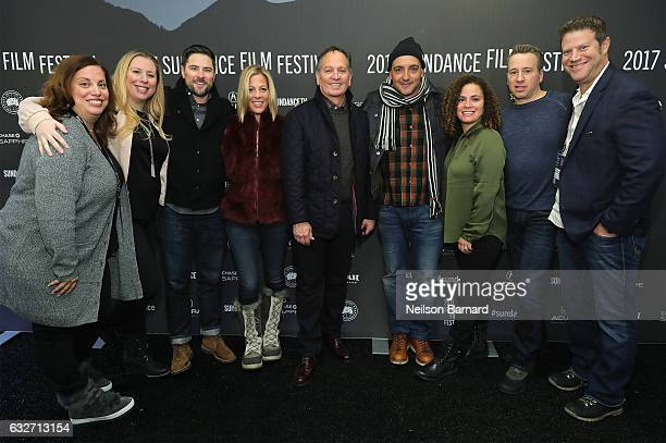 Terry Minogue Sharon Levy Kevin Kay Chachi Senior Anhelo Reyes Frank Tanki and David C Glasser attend the TIME The Kalief Browder Story Sundance...