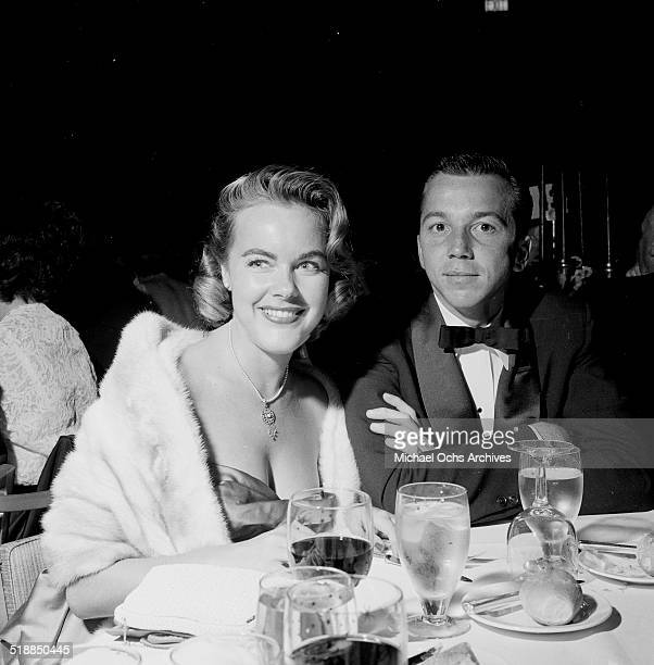 Terry Moore and friend attend an event in Los AngelesCA